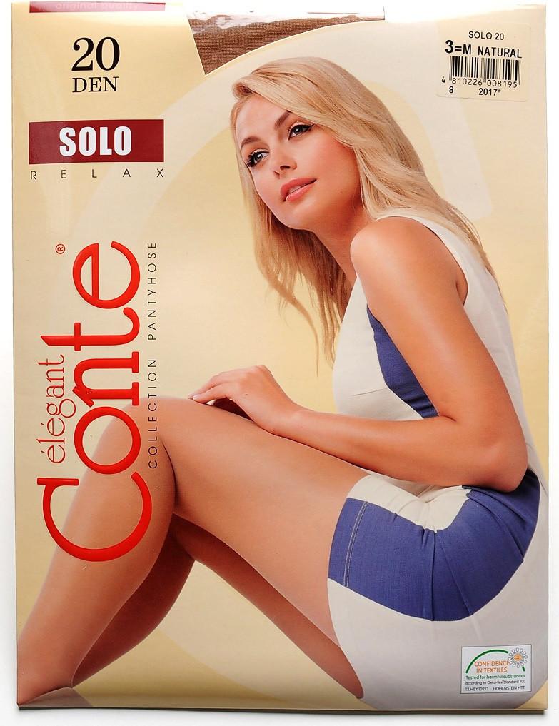 Колготы Conte 20 den цвет Natural (телесный) размер 5