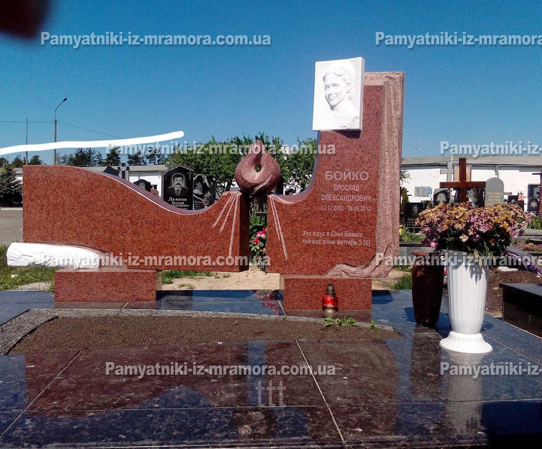 Памятник с огнем №12