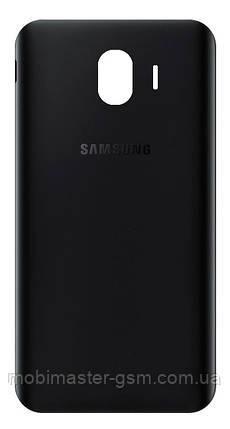 Задняя крышка Samsung J400 Galaxy J4 (2018) черная, фото 2