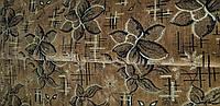 Мебельная ткань Шпигель Цветок корич.