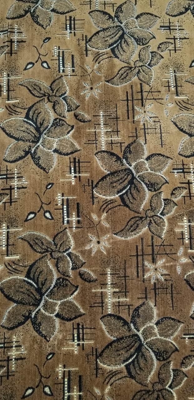 Тканина для оббивки меблів Шпігель Квітка корич.