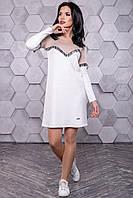 ✴️ Демисезонное спортивное платье из ангоры / Размер S M L XL / Код P26А6В1 - 3160+Н