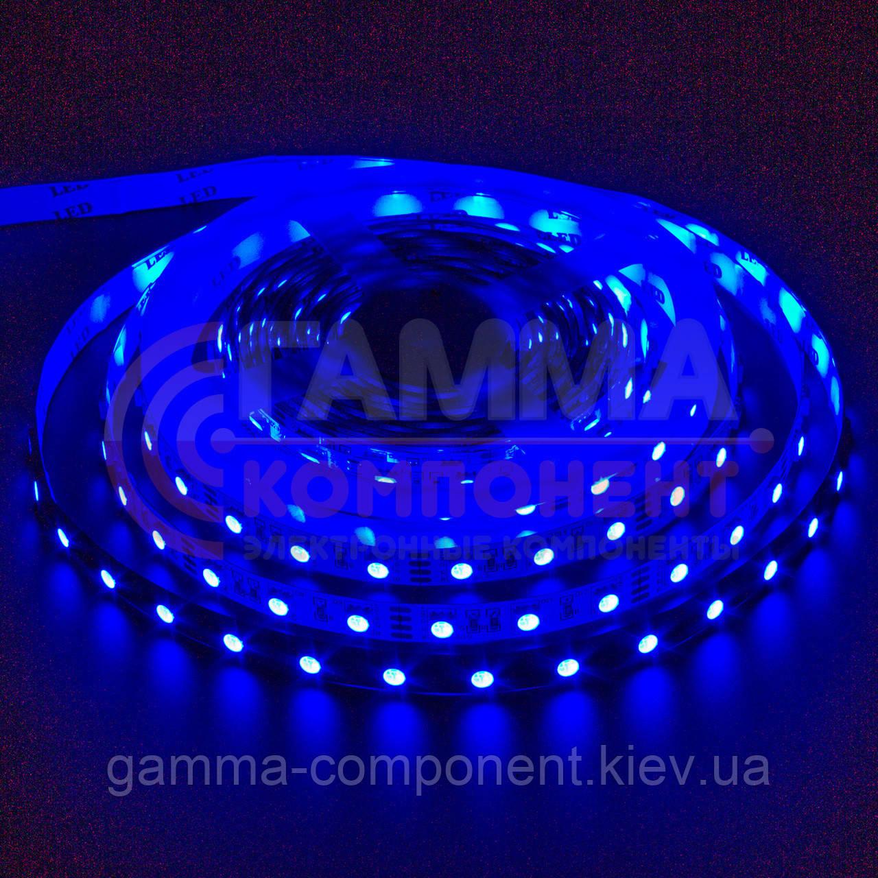Светодиодная лента MOTOKO PREMIUM SMD 5050 (30 LED/м), синий, IP65, 12В - бобины от 5 метров