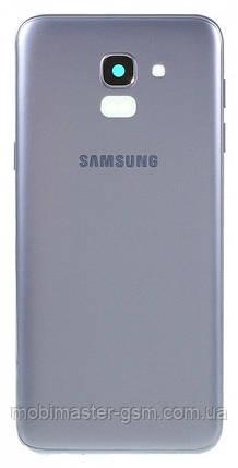 Задняя крышка Samsung J600 Galaxy J6 (2018) lavenda, фото 2