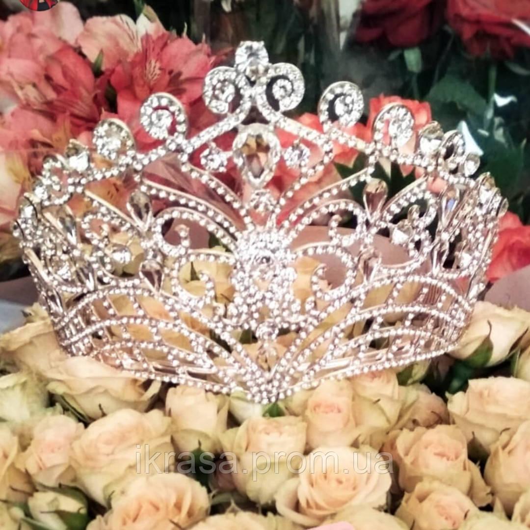11,3 см висотою висока конкурсна корона для нагородження переможниці конкурсу краси