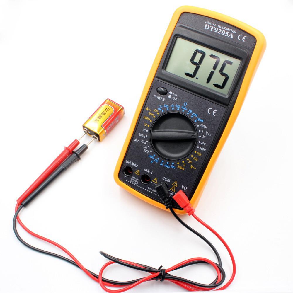 Цифровой профессиональный мультиметр Digital DT-9205A