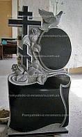 Памятник крест с голубем№36