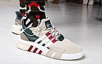 "Кроссовки мужские Adidas EQT Basketball ADV ""Brown Multi"" / F33854 (Реплика)"