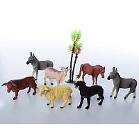 Животные 099B-1,домашние, 6шт, от 8см, в кульке, 26-21-4см