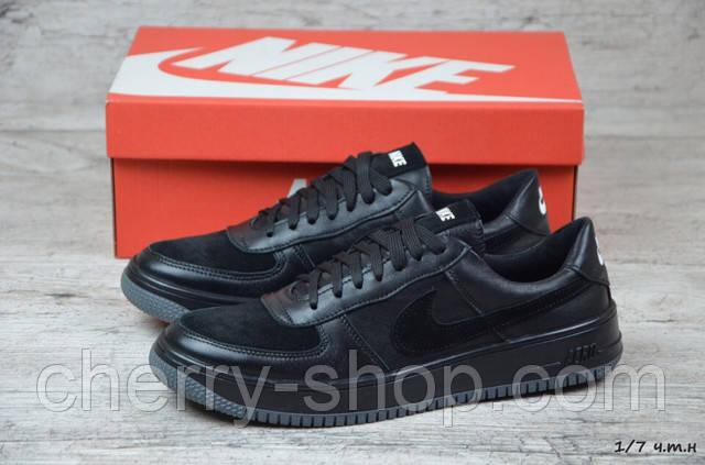 cde66c04b Мужские кожаные кроссовки Nike . Сезон: весна-осень. Тип: кроссовки/кеды.  Верх: натуральная кожа/нубук. Середина: текстиль. Подошва: термополиуретан