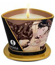 Масажна свічка Shunga Massage Candle Intoxicating Chocolate 170ml