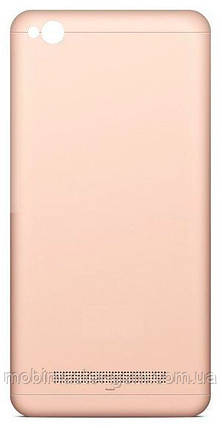 Задняя крышка Xiaomi Redmi 4A gold, фото 2