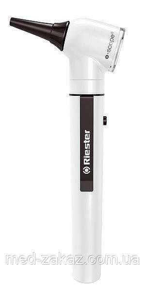 Отоскоп e-scope фиброоптический LED 3,7 В белый в кейсе