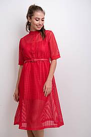 Стильное платье сетка