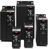 Частотный преобразователь Danfoss VLT Micro FC51 0,37кВт код 132F0002 однофазный