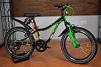 """Детский горный велосипед 20"""" Ardis Rocky Boy Черно-Зеленый (2019)"""