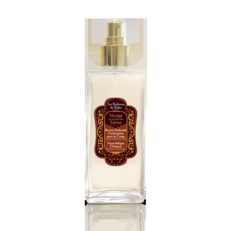 Увлажняющий спрей для тела Аюрведа 50мл La Sultane de Saba MOISTURIZING BODY MIST - AYURVEDIC