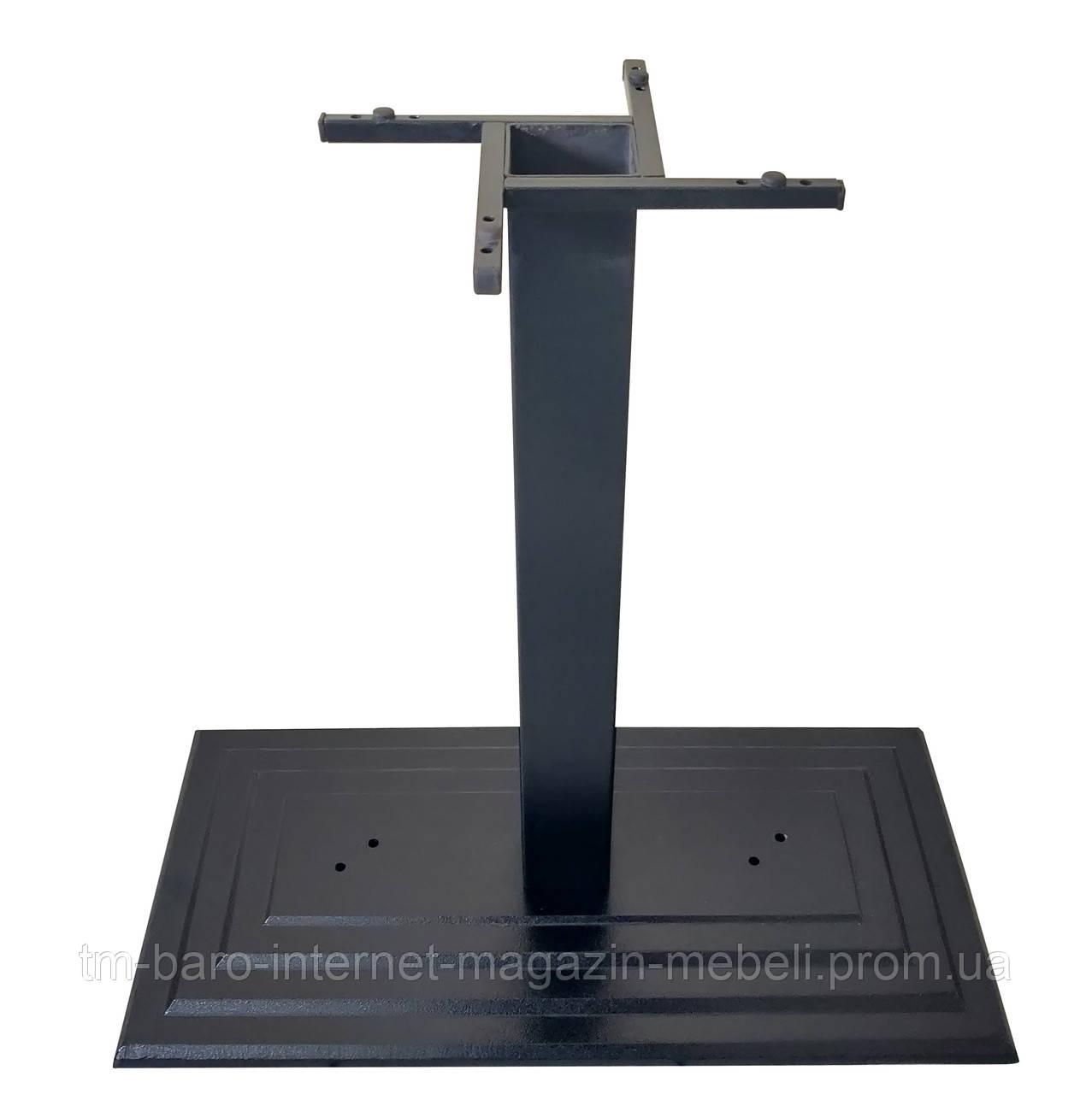 Опора для стола Ле Ман Биг 110 чугун черный, Аурит