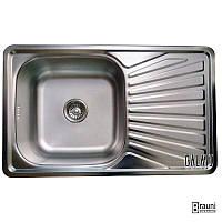 Мойка кухонная стальная Constanta Satin (7138)
