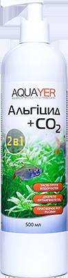 Против водорослей, Альгицид+СО2 500мл. Удобрения для растений, препарат для растений, AQUAYER  в акв