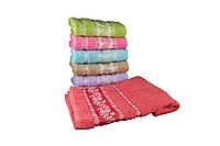 Набор махровых полотенец для лица 50х90 6шт  ТТ3006-6