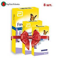 Тест-полоски Фристайл Оптиум Бета-Кетоны №10 (FreeStyle Beta Ketone) (8 упаковок)