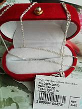 Серебряная цепочка плетение Якорная