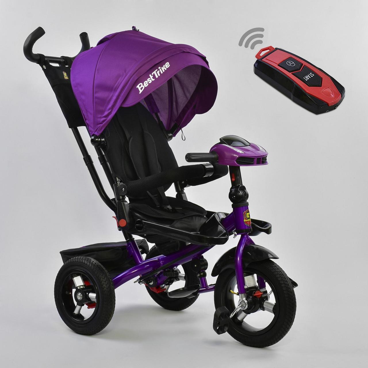 Велосипед Best Trike 6088 F – 5525 поворотное сиденье, надувные колеса, с пультом