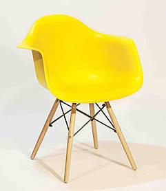 Кресло Leon, желтый