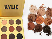"Тени для век Кайли Дженнер ""Бронзовая Палитра""   Kylie Jenner The Bronze Palette 9 цветов"