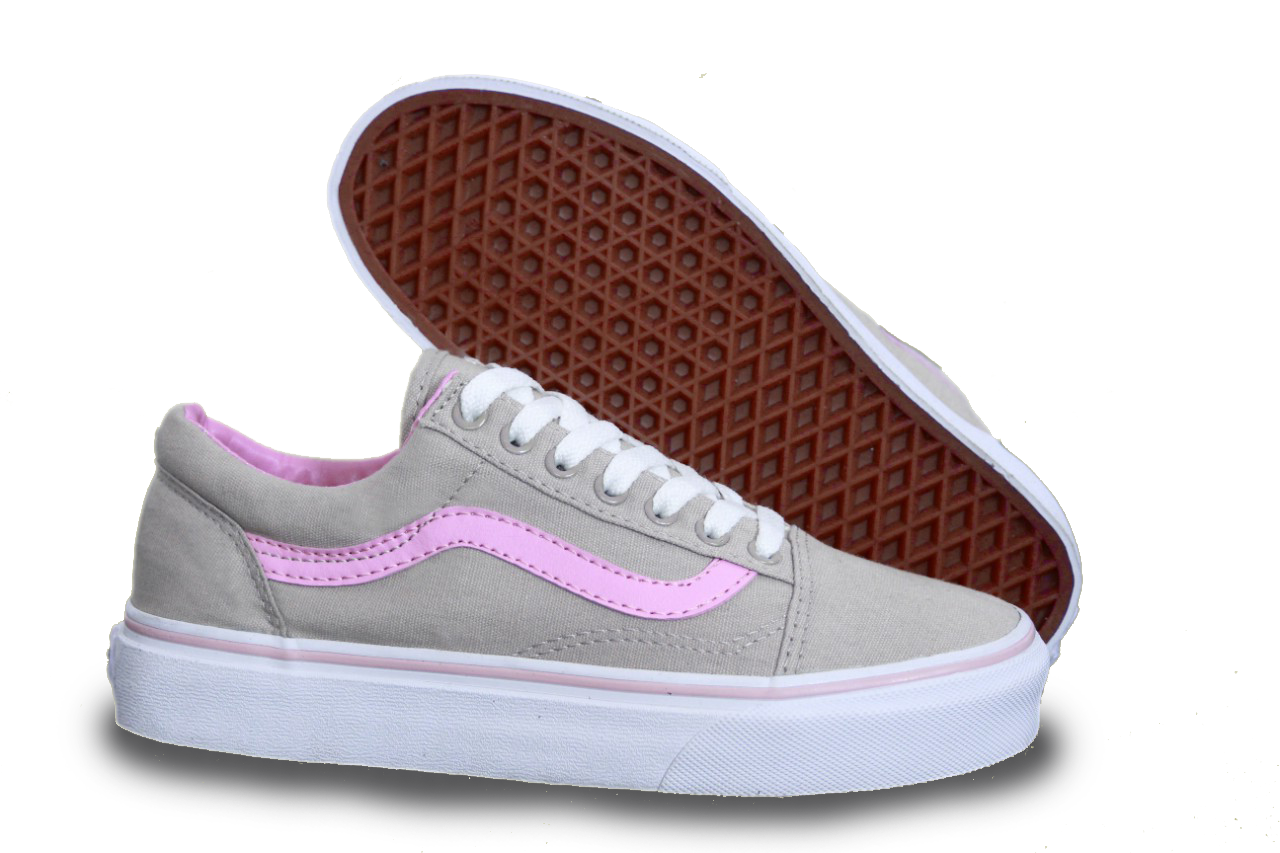 7c043004 Кеды Vans Old Skool Grey/Pink (Серые с розовым), цена 999 грн ...