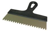 Шпатель зубчатый ПОЛЬША, 250мм, зубья 6х6  мм (62270003)