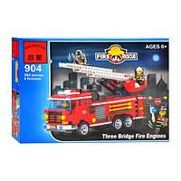 Детский конструктор BRICK 904  Пожарная  тревога