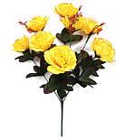 Букет искусственной  розы, 58 см (20 шт. в уп), фото 2