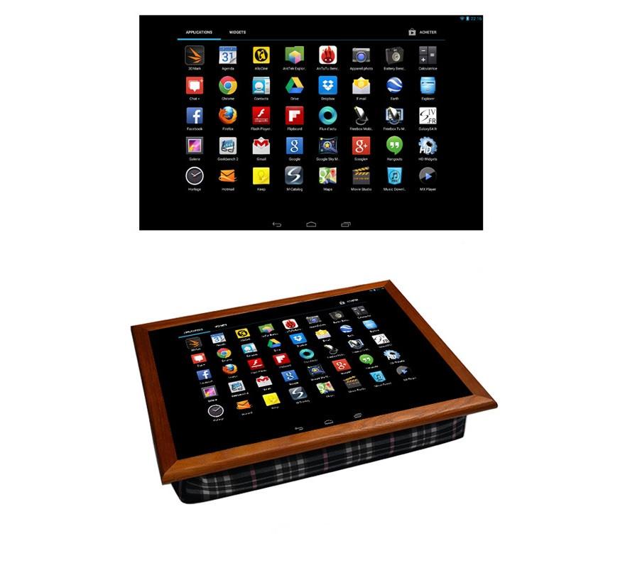 """Столик-поднос на подушке """"Планшет/Iphone"""",44 х 36.3 х 8 см."""