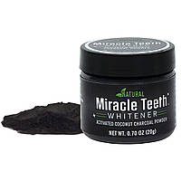 Відбілювач зубів чорний вугілля Miracle Teeth Whitener