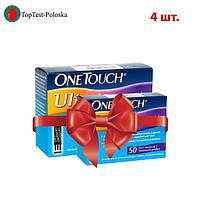 Тест полоски OneTouch Ultra  №50 (4 упаковки)