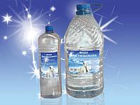 Дистиллированная вода налив 1л-0.54грн.в ПЭТ таре 1л-3грн,5л-12грн