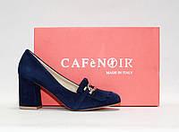 Женские туфли лоферы CafeNoir оригинал Италия натуральная замша 37