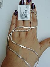 Серебряная цепочка 925 пробы плетение Колос