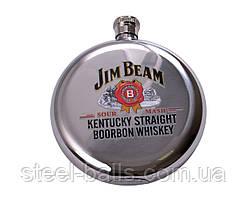 Фляга Jim Beam из нержавеющей стали