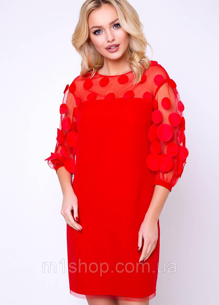 Женское красное платье (Кирстен lzn)