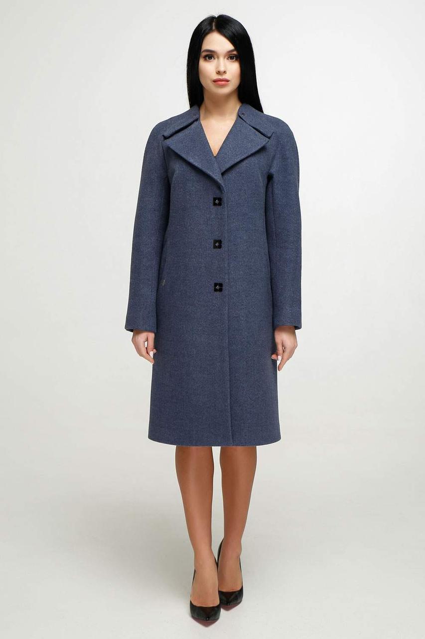 Демисезонное пальто В-1187 Шерсть пальтовая 113-1712 Тон 11