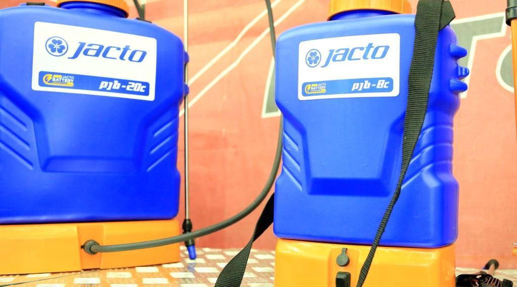 Аккумуляторный опрыскиватель jacto pjb-8c