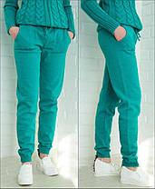 Женские вязанные, трикотажные, брюки, штаны от 44 до 52 р-ра, фото 2