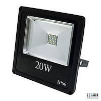 Светодиодный прожектор Electrum 20W-6500K (B-LF-0888)