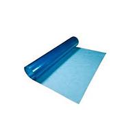 Прозрачный плоский рулонный шифер Волнопласт 2x10 м синий