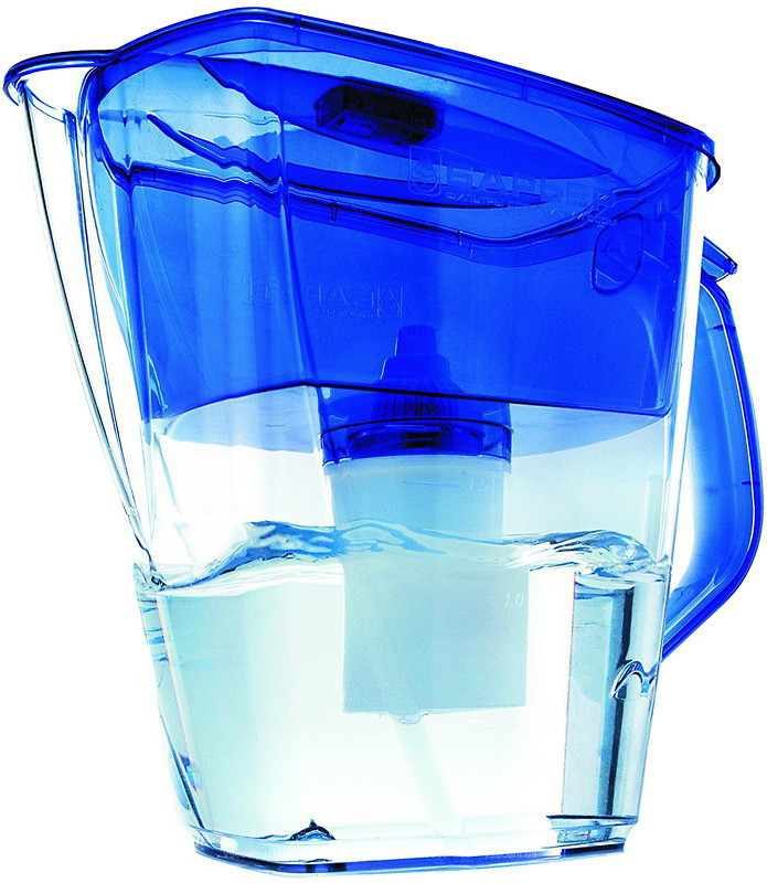 Фильтр для воды кувшин  Барьер Гранд синий