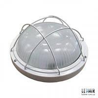 Светодиодный светильник LEDeffect ЖКХ 10W-5000K с защитной решеткой (СП-ДПО-29-010-1100-65Х)