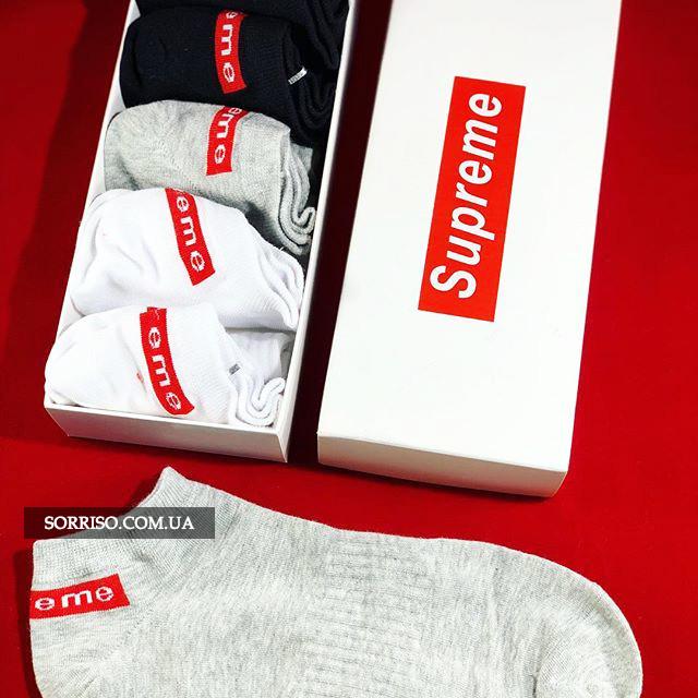 Носки Supreme 9 штук - Набор